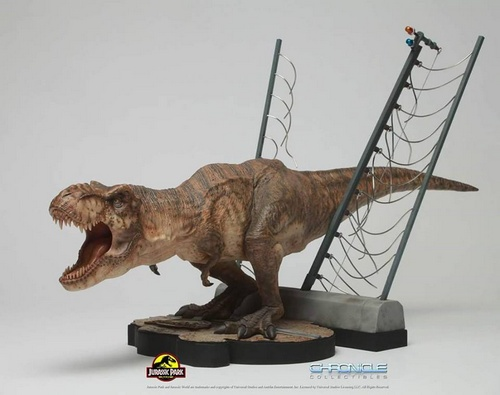 Simply Toys Jurassic Park Tyrannosaurux Rex collectible Singapore.