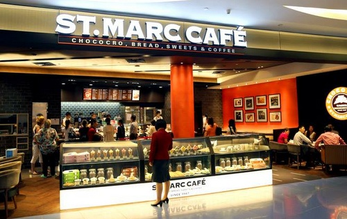 St. Marc Café VivoCity Singapore.