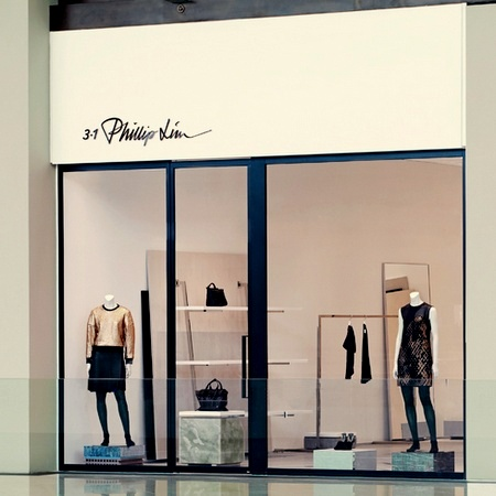 3.1 Phillip Lim clothing store The Shoppes at Marina Bay Sands Singapore.