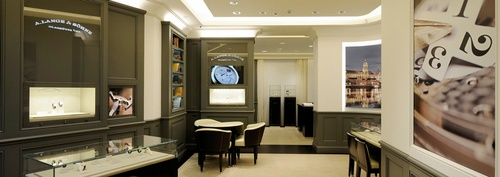 A. Lange & Söhne watch store ION Orchard Singapore.