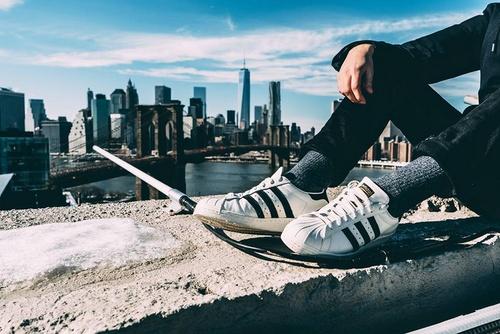 adidas shoes New York City.