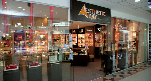 Aesthetic Bay pen and lighter boutique ION Orchard Singapore.