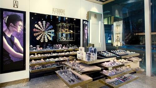 Alexandre de Paris accessory store Capitol Piazza Singapore.