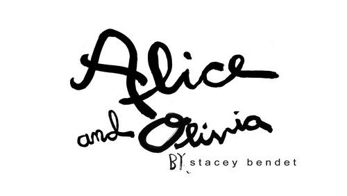 Alice + Olivia clothing.