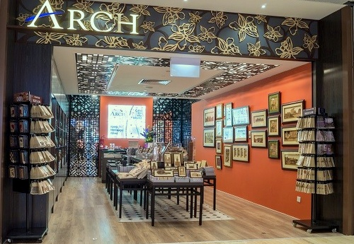 Arch gift and collectibles store Capitol Piazza Singapore.