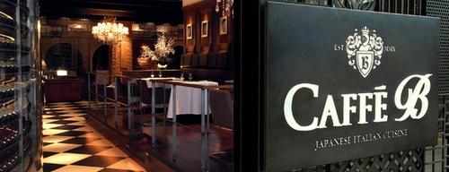 Caffé B restaurant & bar Marina Bay Sands Singapore.