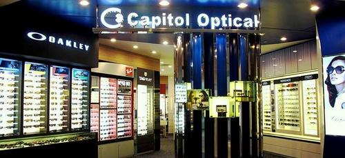 Capitol Optical store Singapore.