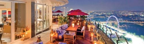 CÉ LA VI Restaurant and SkyBar Marina Bay Sands Singapore.