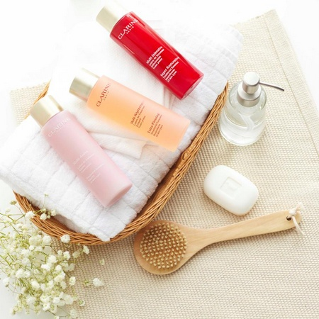 Clarins beauty products & cosmetics Singapore.