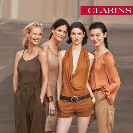 Clarins cosmetics Singapore.