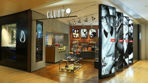 Clout9 watch & accessories store Capitol Piazza Singapore.