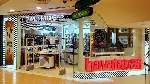 CommonThread shop Bugis Junction Singapore.