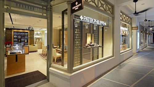 Cortina Watch store Capitol Piazza Singapore.