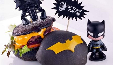 DC Comics Superheroes Cafe Batman's Dark Knight Burger Singapore.