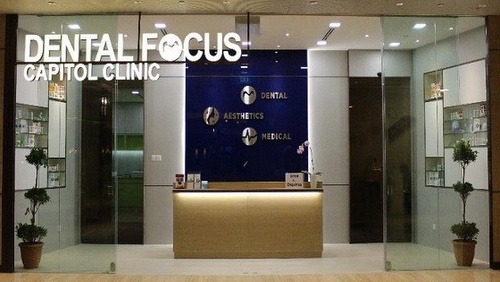 Dental Focus dental clinic Capitol Piazza Singapore.