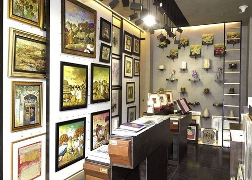 Eagle's Eye art gallery Capitol Piazza Singapore.
