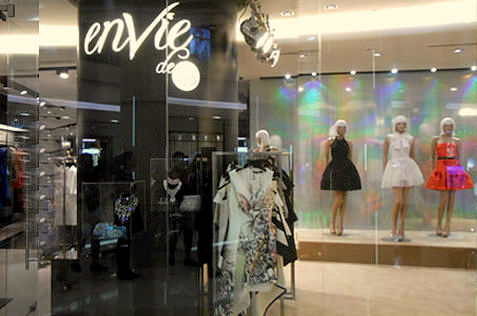 enVie de Pois clothing store ION Orchard Singapore.