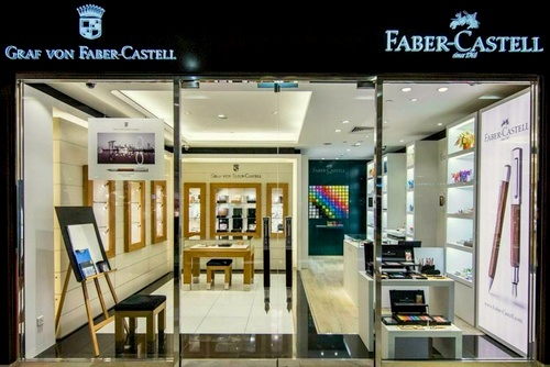Faber-Castell pen and art supply store ION Orchard Singapore.