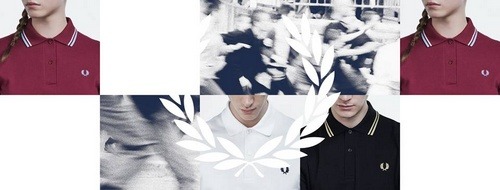 Fred Perry shirt.