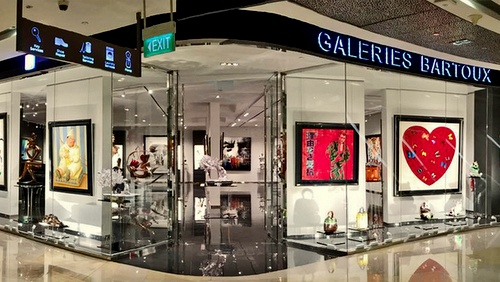 Galeries Bartoux art gallery Singapore.