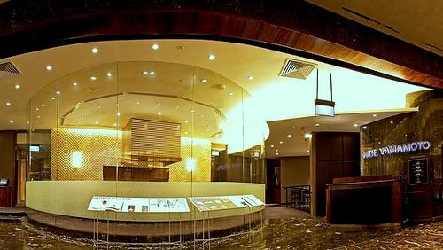 Hide Yamamoto Japanese restaurant Marina Bay Sands Singapore.
