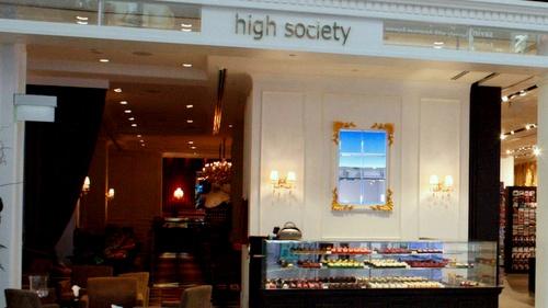 High Society Cafe & Restaurant Marina Bay Sands Singapore.