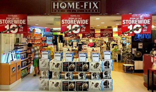 Home Fix home improvement and hardware store Singapore.