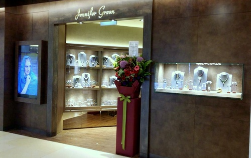 Jennifer Green jewelry shop ION Orchard Singapore.