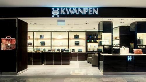 KWANPEN men's boutique The Shoppes at Marina Bay Sands Singapore.