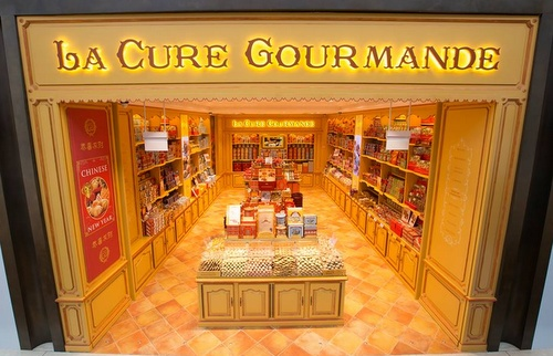 La Cure Gourmande The Shoppes Marina Bay Sands Singapore.
