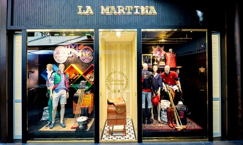 La Martina store The Shoppes at Marina Bay Sands Singapore.