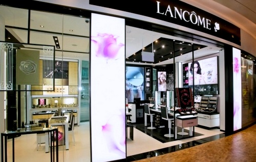 Lancôme beauty store Capitol Piazza Singapore.