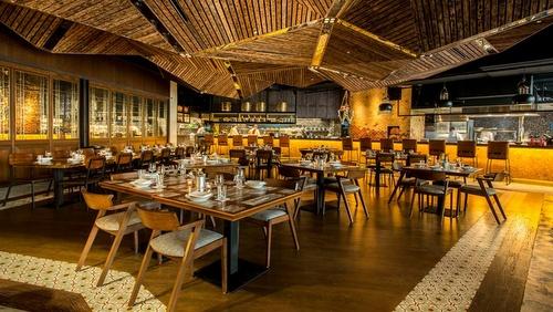 Long Chim Thai Restaurant Marina Bay Sands Singapore.