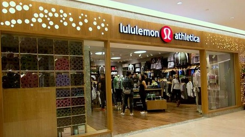lululemon athletica clothing shop Takashimaya Shopping Centre Singapore.