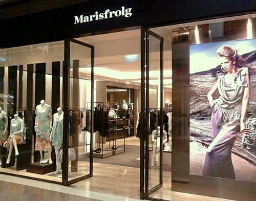 Marisfrolg clothing store The Shoppes at Marina Bay Sands Singapore.