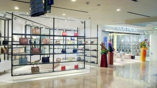 Maud Frizon shoe store Raffles City Singapore.