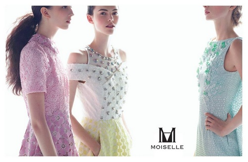 MOISELLE women's clothing Singapore.