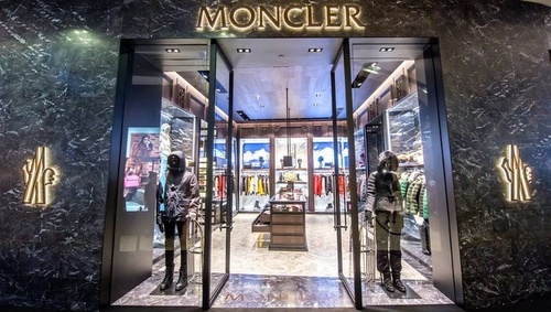 Moncler clothing store ION Orchard Singapore.