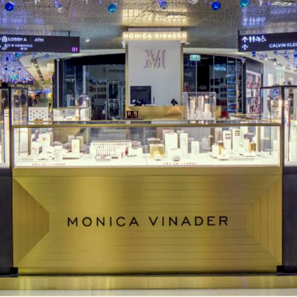 Monica Vinader jewellery shop ION Orchard Singapore.