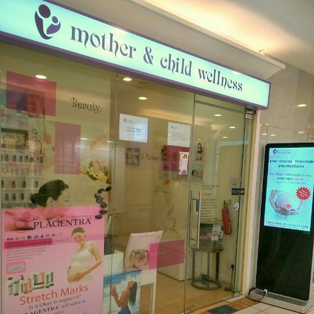 Mother & Child Wellness salon Forum The Shopping Mall Singapore.