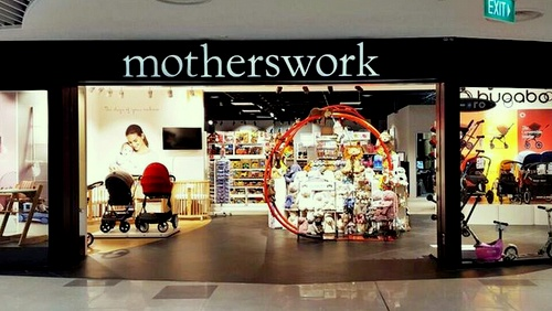 motherswork baby & maternity store Compass One Singapore.