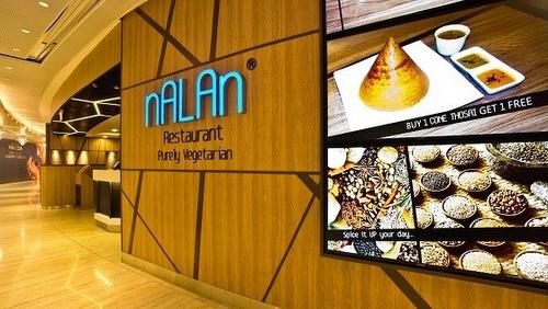 Nalan Indian vegetarian restaurant Capitol Piazza Singapore.