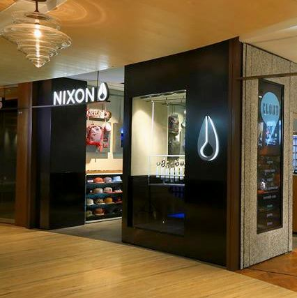 Nixon watch & accessory store Capitol Piazza Singapore.