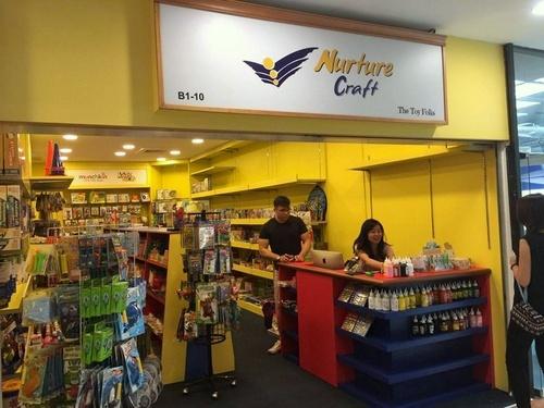 Nurture Craft store Forum The Shopping Mall Singapore.