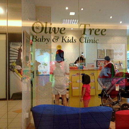 Olive Tree Baby & Kids Clinic Forum The Shopping Mall Singapore.