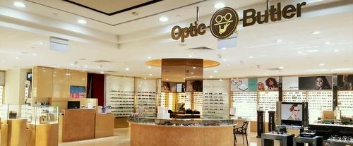 Optic Butler optical shop Paragon Singapore.