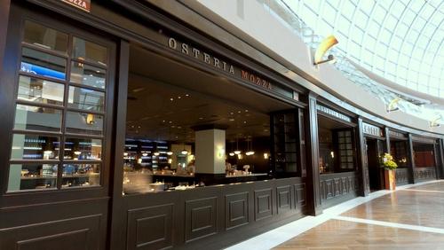 Osteria Mozza Italian restaurant Marina Bay Sands Singapore.
