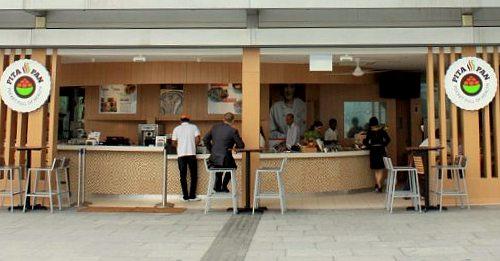 Pita Pan vegetarian Mediterranean restaurant Marina Bay Sands Singapore.