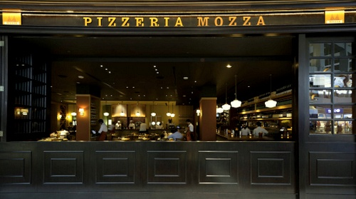 Pizzeria Mozza Marina Bay Sands Singapore.