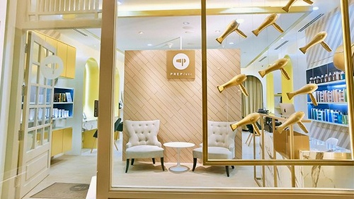 PREP Luxe hair salon Capitol Piazza Singapore.